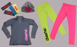 Her Suppz clothing and workout accessories